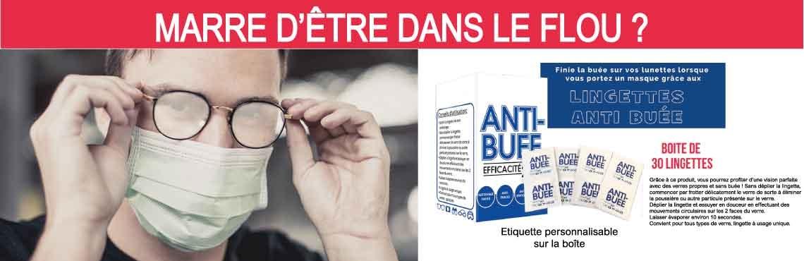 KD Office propose les lingettes anti-buée pour ne plus être dans le flou