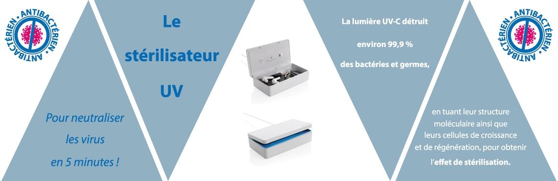 La boîte UV pour neutraliser les virus